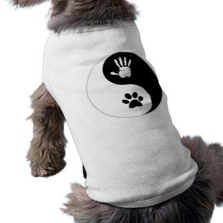 Pet's - HandToPaw Yin-Yang Dog Shirt