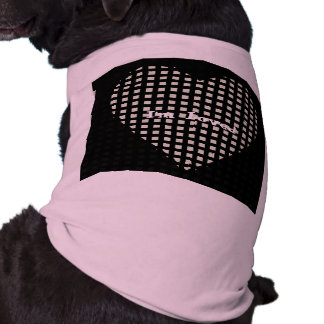 Pets_I'm Loved_Blk & Pink_Heart_TEMPLATE_ Shirt