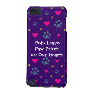 Pets Leave Paw Prints on Our Hearts iPod Touch (5th Generation) Cases