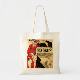 PETS LOVERS,I LOVE PETS TOTE BAG