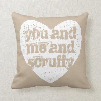 Pet's Name You and Me Throw Pillow