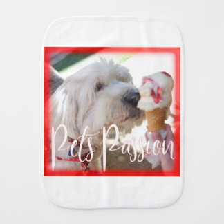 Pets Passion Burp Cloth