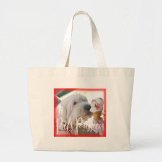Pets Passion Large Tote Bag