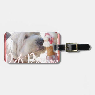 Pets Passion Luggage Tag