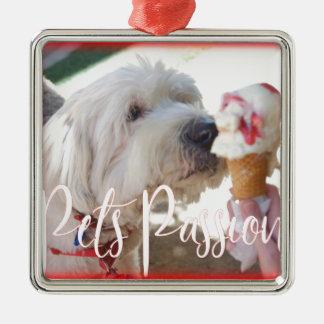 Pets Passion Metal Ornament