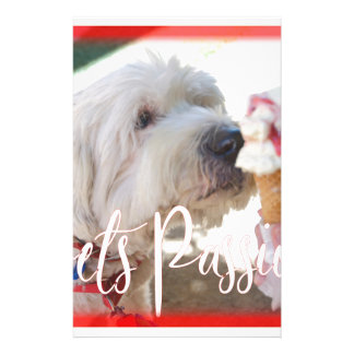 Pets Passion Stationery