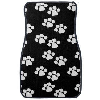 Pets Paw Prints Car Mat