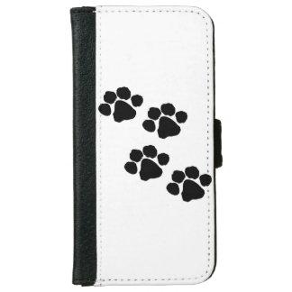 Pets Paw Prints iPhone 6 Wallet Case