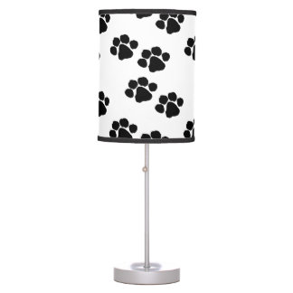 Pets Paw Prints Table Lamp