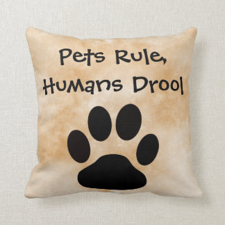 Pets Rule Pillow