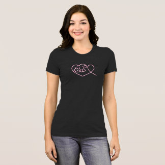 Pets with Ribbon for Breast Cancer Awareness Shirt