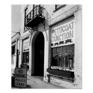Petticoat Juction, Cowan Tennessee Poster