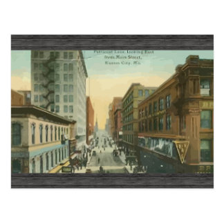 Petticoat Lane,Kansas City, Vintage Postcard