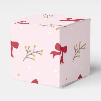 Petty cash For Christmas presents Rosa Favor Box