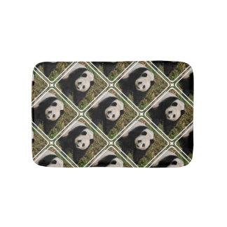 Petulant Panda Bear Bathroom Mat