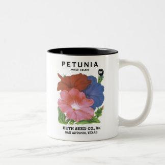 Pétunia, couleurs mélangées, graine Co de Huth Tasses À Café