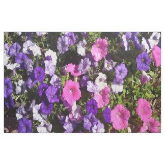 Petunia Pattern Fabric