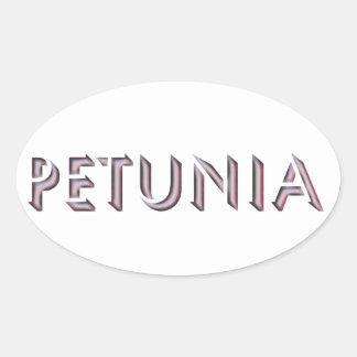 Petunia sticker name