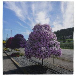 Petunia Tree at The Greenery in Kelowna Napkin