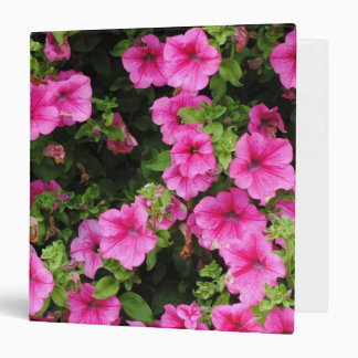 Petunias and lawn 3 ring binders