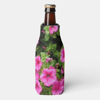Petunias and lawn bottle cooler