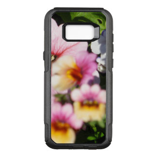 Petunias and Nemesia OtterBox Commuter Samsung Galaxy S8+ Case