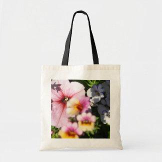 Petunias and Nemesia Tote Bag