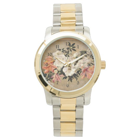 Petunias: Henri Fantin-Latour artwork Wrist Watch