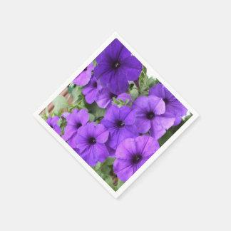 Petunias Paper Napkins