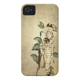 Peu de garçon vintage en tenue vintage avec des coques iPhone 4 Case-Mate