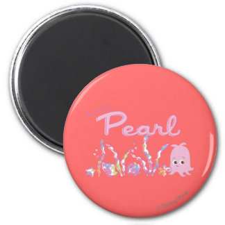 Peu de perle magnet rond 8 cm