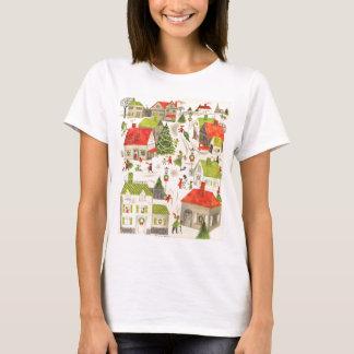 Peu de village de Noël T-shirt