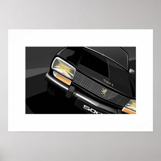 Peugeot 504 poster