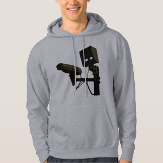 Pew Pew Pew Laser Radar Gun Robot Hoodie