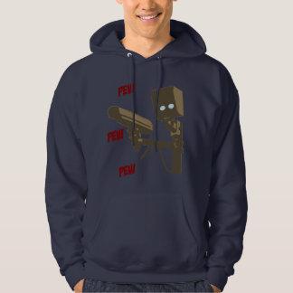 Pew Pew Pew Laser Radar Gun Robot Sweatshirts