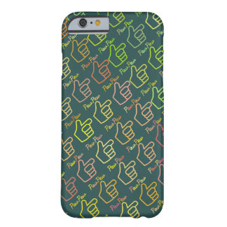 Pew Pew Pointing Hand Barely There iPhone 6 Case