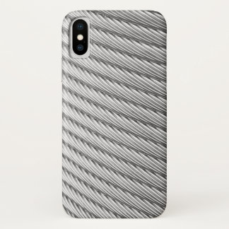 Pewter Braided Cable iPhone X Case
