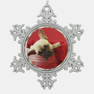 Pewter Snowflake DIY Photo Pewter Snowflake Ornament
