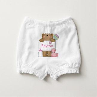 Peyton's Sweet Bear Diaper Cover