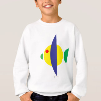 Pez amarillo sweatshirt
