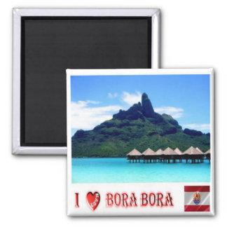 PF - French Polynesia - Bora Bora - Mount Otemanu Magnet