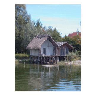 Pfahlbauten - Stilt House Museum Unteruhldingen Postcard