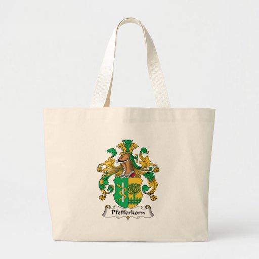 Pfefferkorn Family Crest Tote Bag
