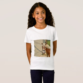 Pferdeportrai - Girls' Fine jersey T-shirt