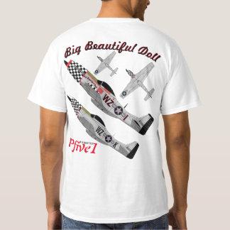 """Pfive1 P-51 """"Big Beautiful Doll 78th"""" T-Shirt"""