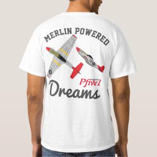 "Pfive1 P-51 ""Merlin Powered Dreams"" T-Shirt"