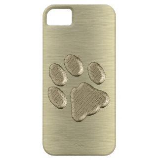 Pfötchen gold *-* iPhone 5 case