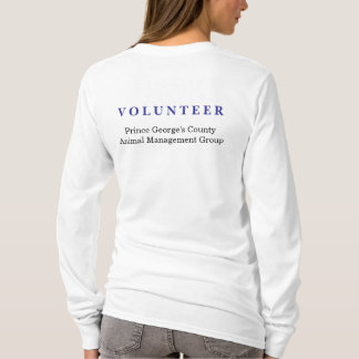 PG Animal Shelter Volunteer shirt