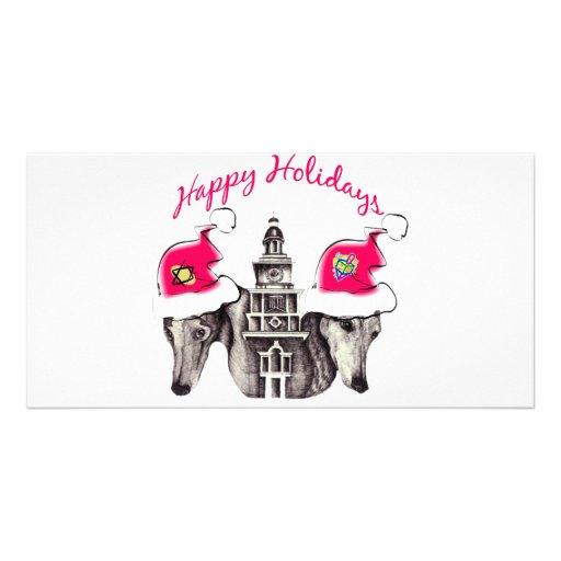 PGCHolidays Photo Greeting Card