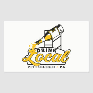 PGH Clothing Co. - Drink Local Decal Sticker